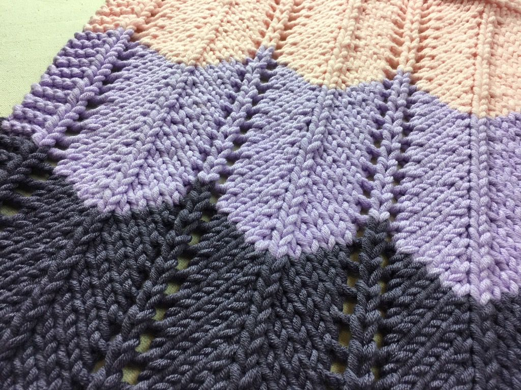 Loom Knit Ripple and Ridge Afghan | Afghans, Loom knitting and ...