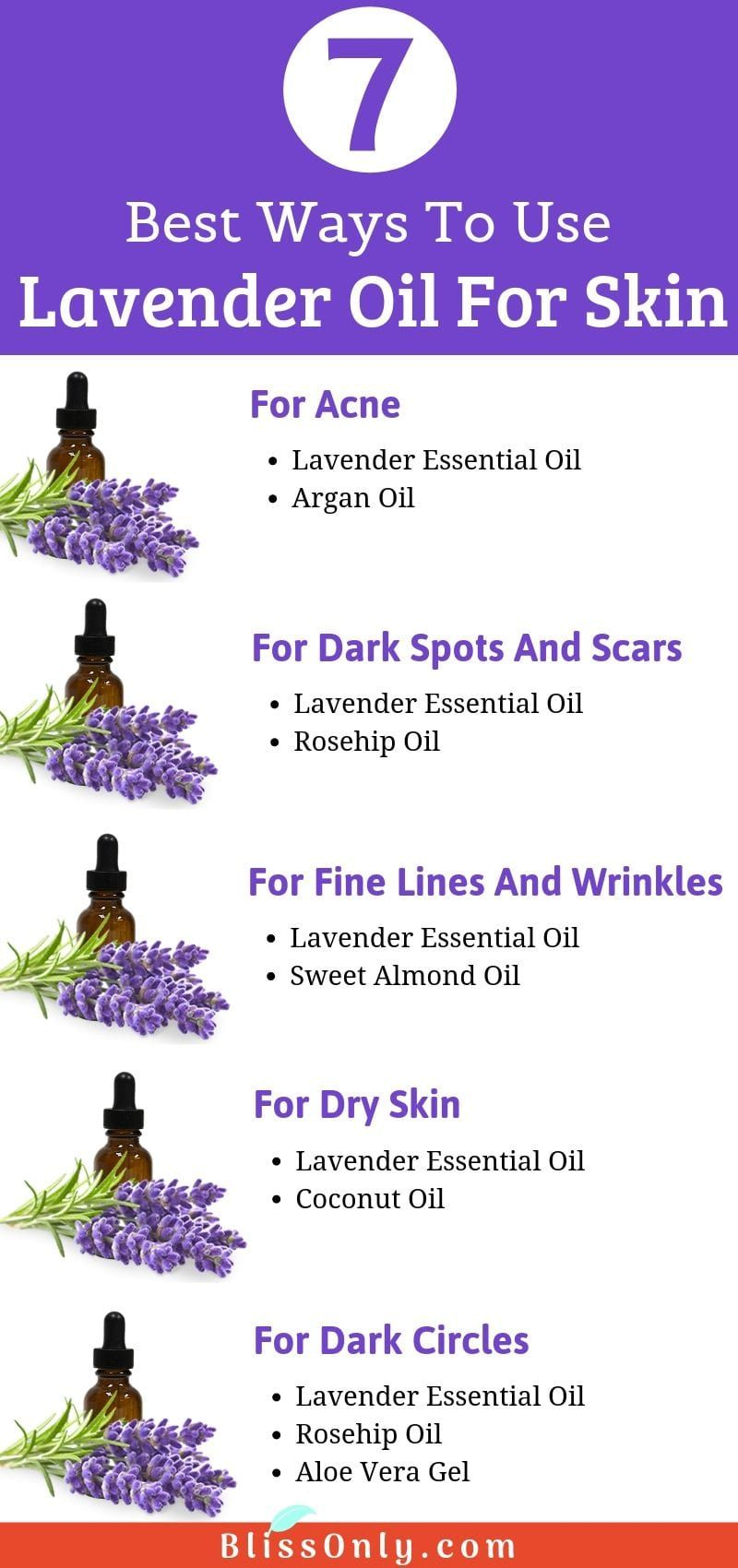 7 Best Ways To Use Lavender Oil For Skin Blissonly Lavender Oil For Skin Oil For Dry Skin Oil Skin Care