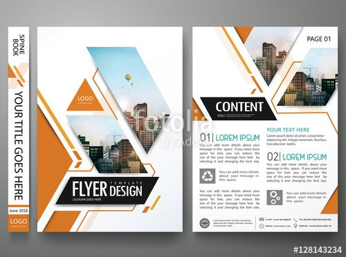 Download The Royalty Free Vector Brochure Design Template Vector