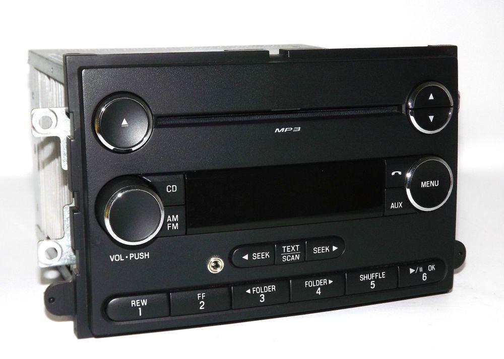 Ford 06 13 Car Truck Radio Am Fm Mp3 Cd Player Aux Input 8g1t