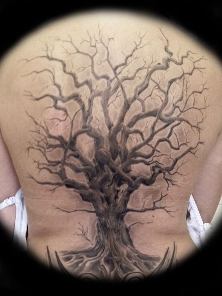 tree tattoo tree freehand tattoos pinterest google baum und tattoo ideen. Black Bedroom Furniture Sets. Home Design Ideas