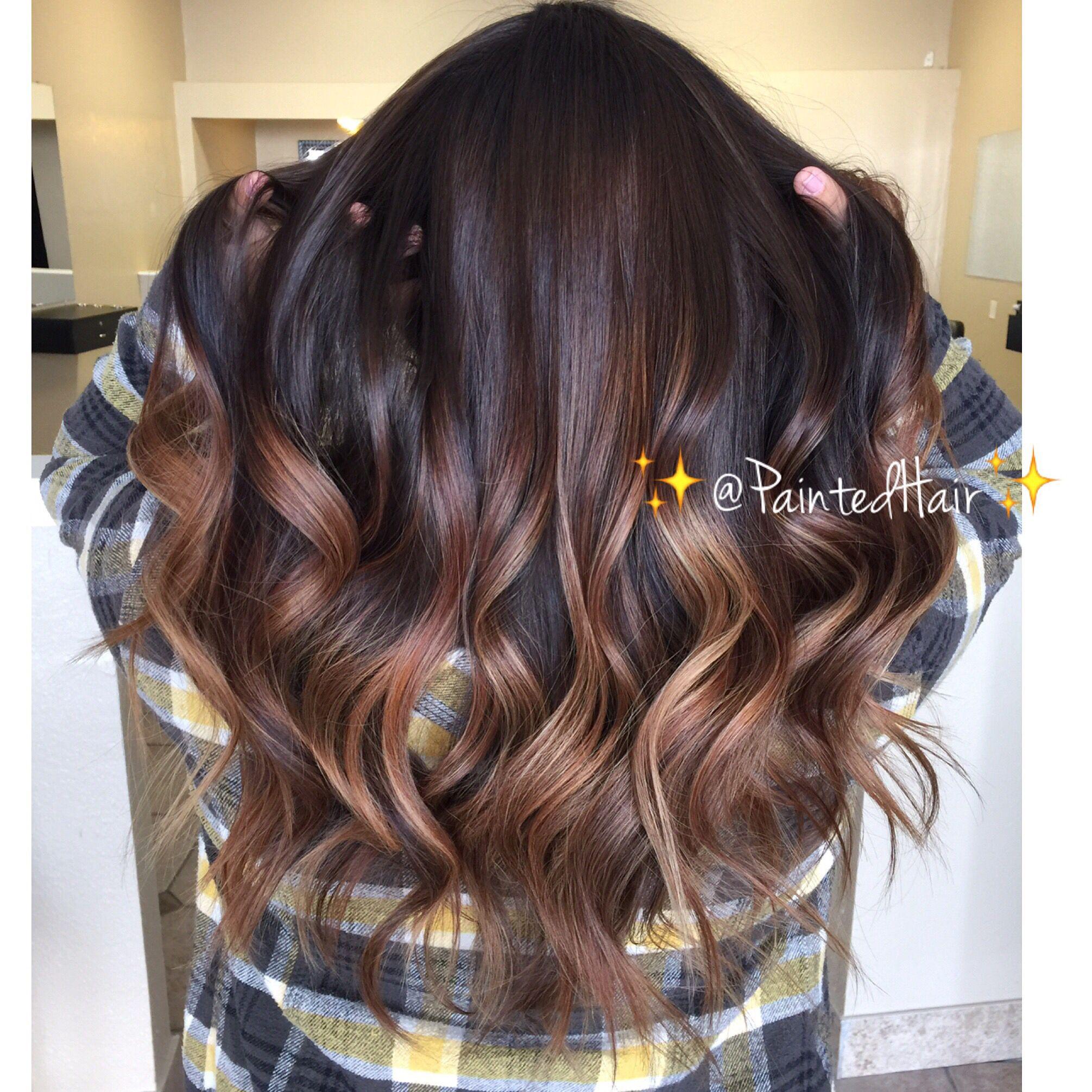 11 Painted Hair Ideas Hair Hair Painting Long Hair Styles