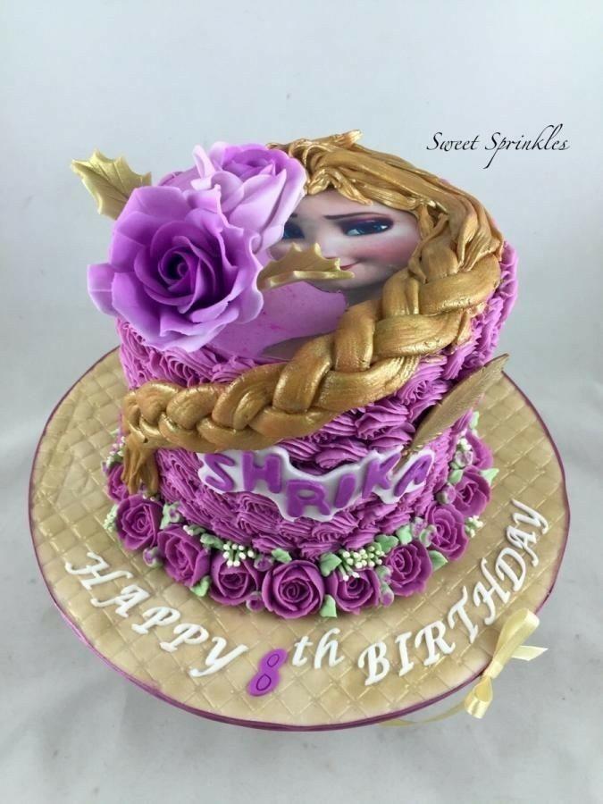 Pin by Caro Ramrez on rapunzel cake Pinterest Rapunzel