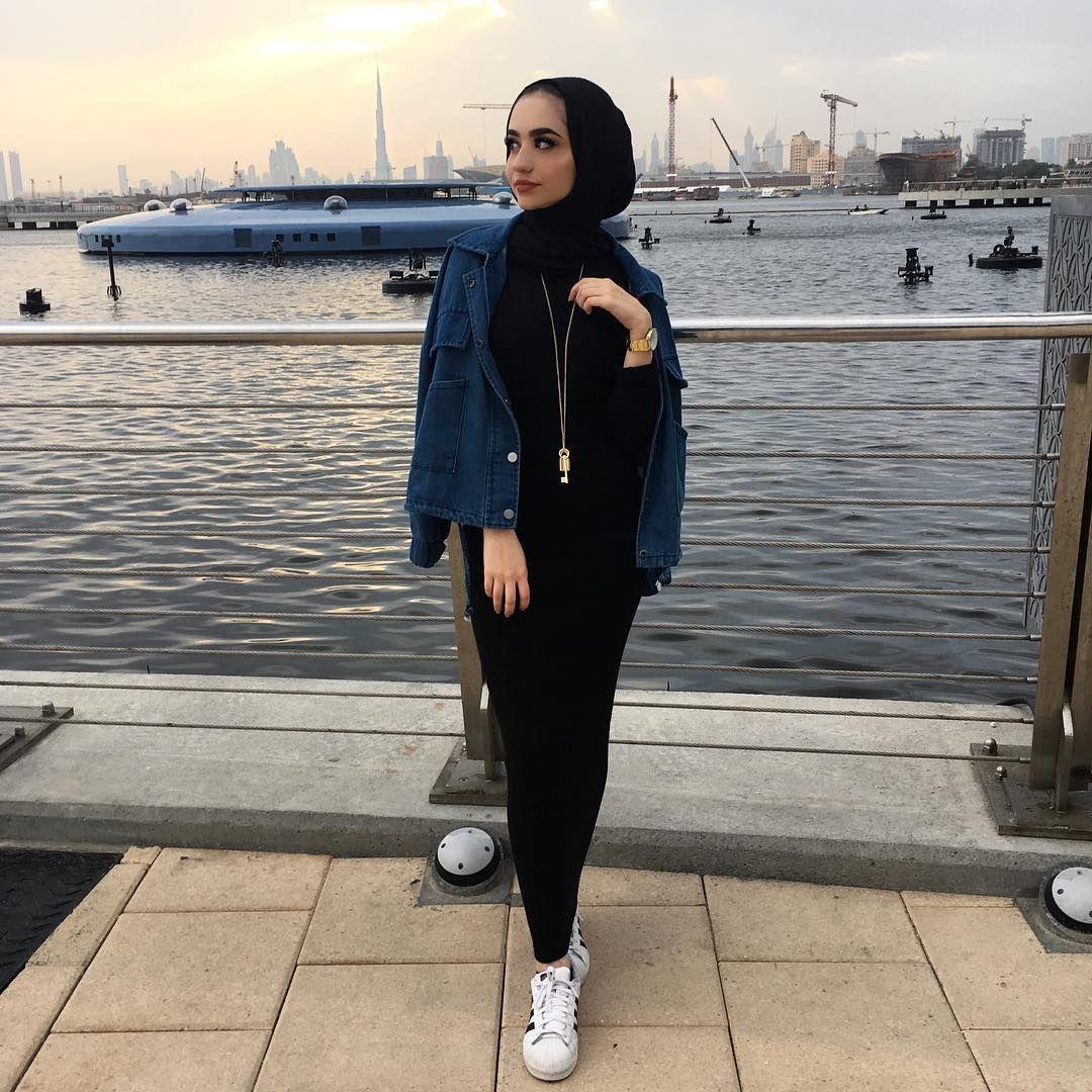 Hijab Mode Sommer Schlichte Mode Mode Outfits Arabische Mode Muslimische Mode
