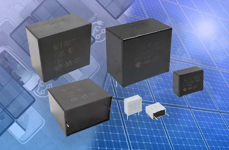 Vishay Unveils New Series Of Suppression Film Capacitors Electronics Components Capacitors Power Electronics