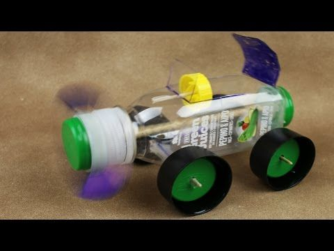 how to make a motor car with bottle