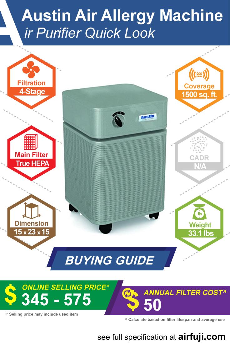 Austin Air Allergy Machine Review Air purifier, Clean