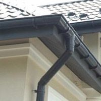 Possible Idea Of Half Round Gutters For The House In