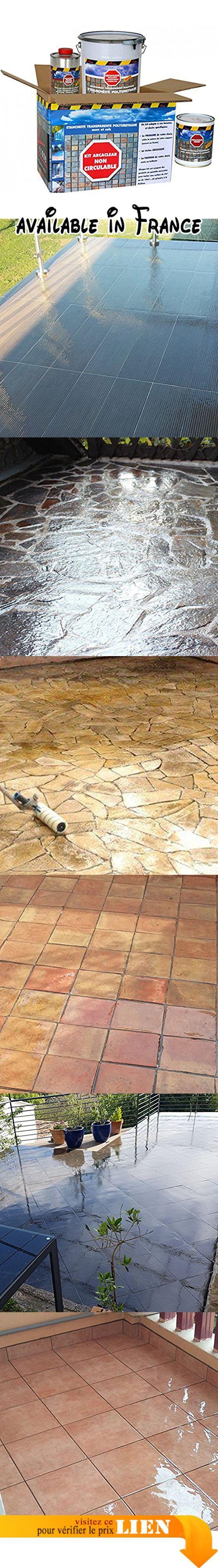 B01lxjb5he Etancheite Transparente Terrasse Carrelee Le Kit Arcaclear Est Un Systeme Incolore D Etancheite Liq Terrasse Carrelee Etancheite Liquide Terrasse