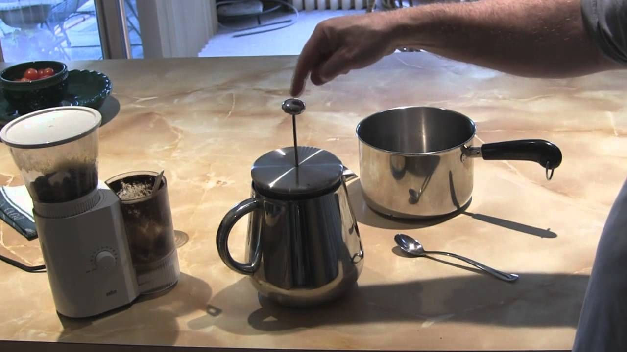 How to make great coffee using a french press french