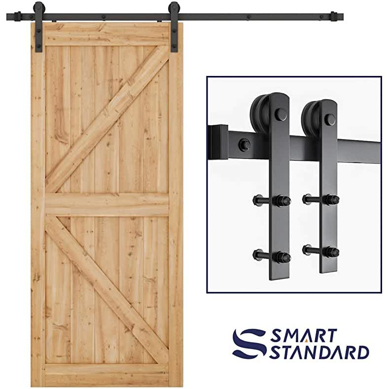 Amazon Com Barn Door Hardware In 2020 Sliding Barn Door Hardware Barn Door Kit Sliding Door Hardware