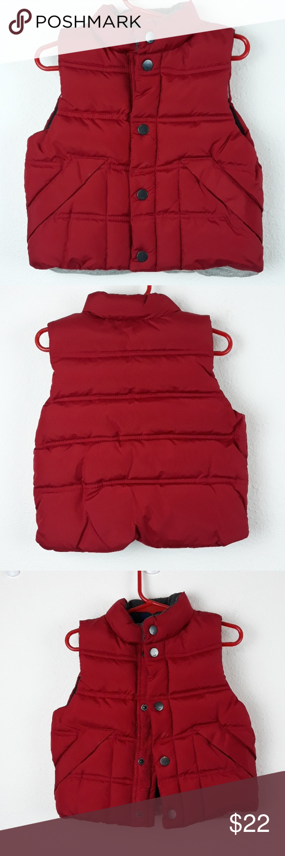 f051ecba5 Babygap thick puffer vest size 12-18 months in 2018
