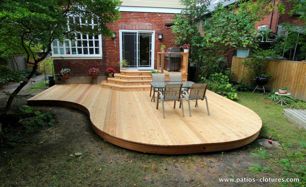 Curved Deck Johnskareng 2 Curved Deck Curved Patio Patio