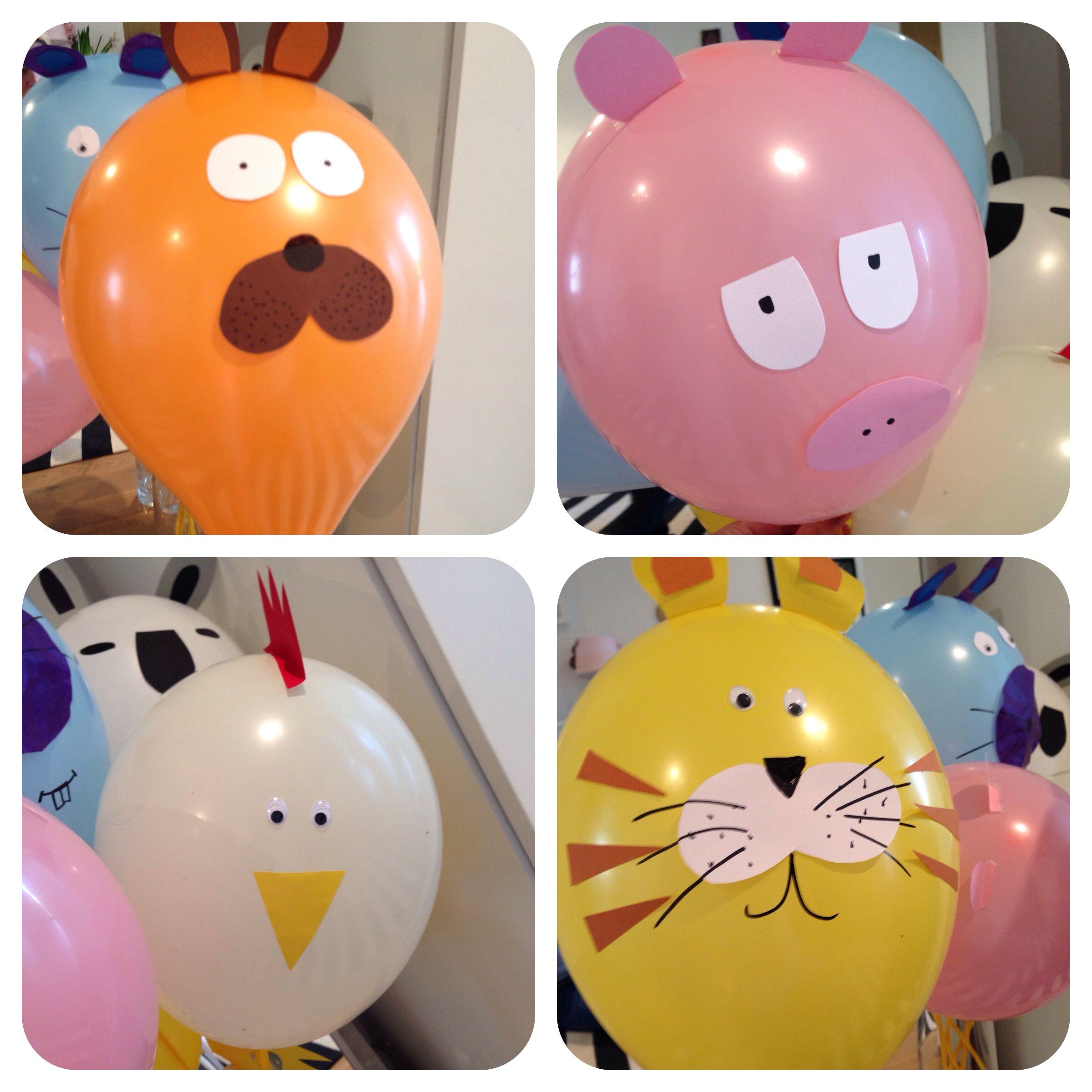 Balloon Animals Party Fun For Toddlers Ballon Tiere Für