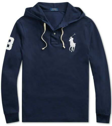Polo Ralph Lauren Men Big Pony Embroidery Letterman Rugby