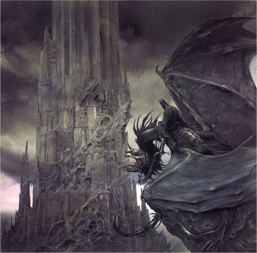 John_Howe_-_The_dark_tower