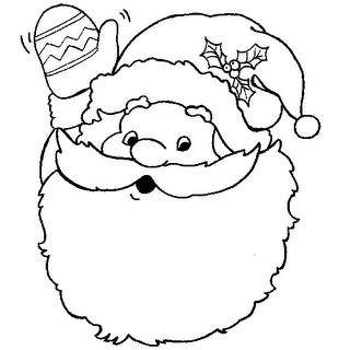 Free Toddler Christmas Coloring Pages Printable Christmas Coloring Pages Santa Coloring Pages Christmas Coloring Pages
