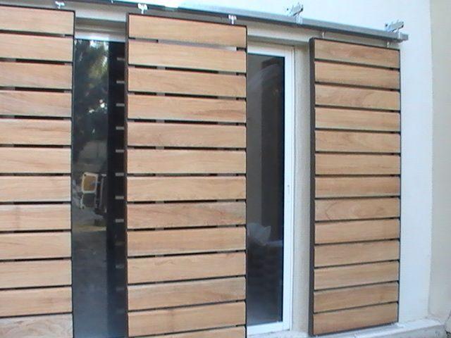 volet coulissants marseille montpellier volets et brise soleils pinterest volet. Black Bedroom Furniture Sets. Home Design Ideas