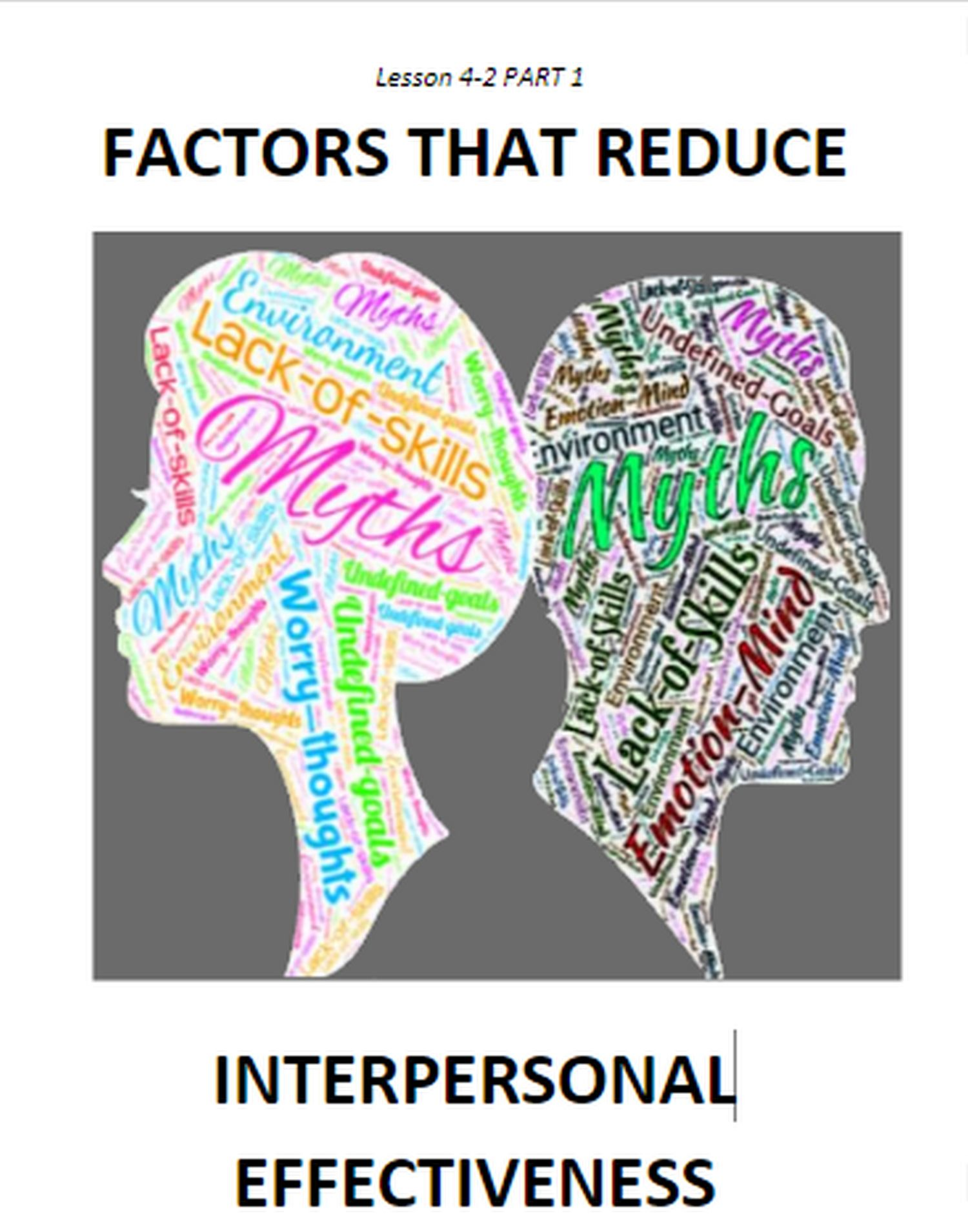 4 2 Factors That Reduce Interpersonal Effectiveness