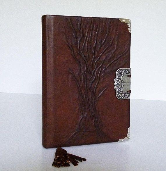 #LeatherJournal #Diary #BrownNotebook #BucketList