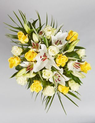 Photo of Summer Rose & Lily Bouquet –  –