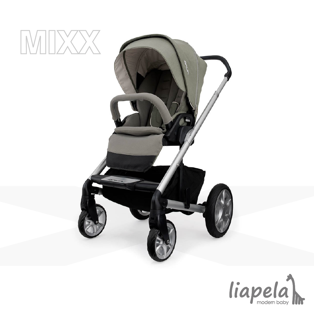 The Nuna Mixx Stroller (US)499.95 really fits into our