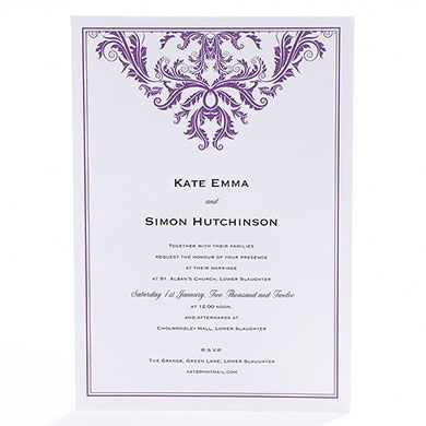 Baroque Invitation