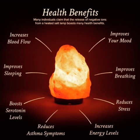 A Genuine Himalayan Salt Lamp Has Many Different Benefits Salt