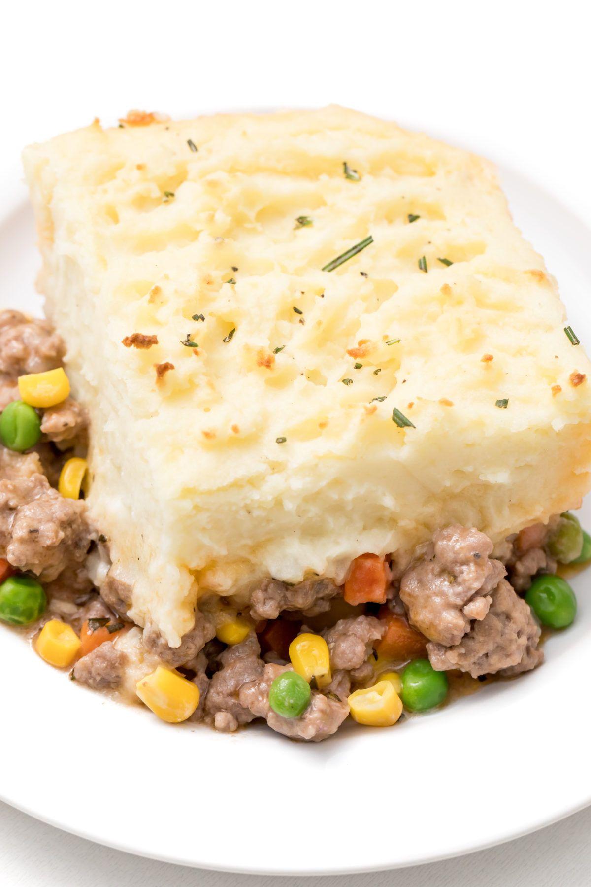Alton Brown S Shepherd S Pie Recipe Alton Brown Shepherds Pie Shepherds Pie How To Cook Potatoes