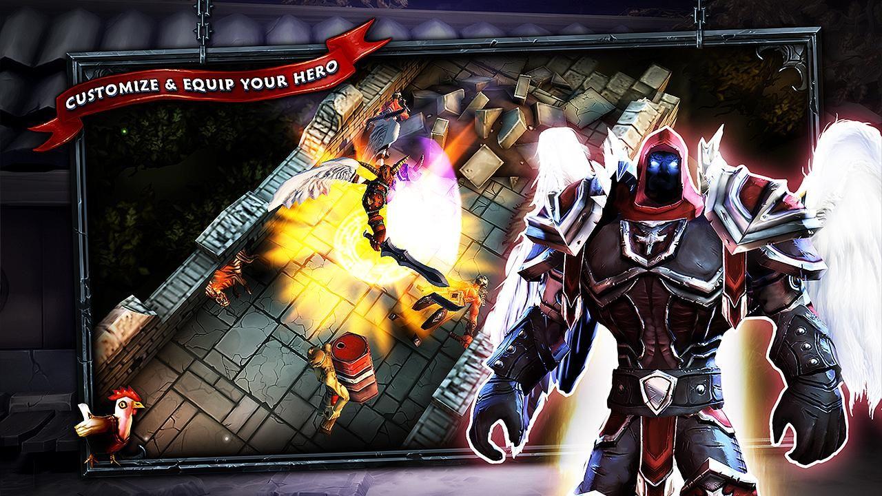 SoulCraft Action RPG (free) screenshot