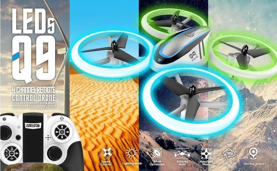 Q9 Drones For Kids Rc Drone With Altitude Hold And Amazon Co Uk