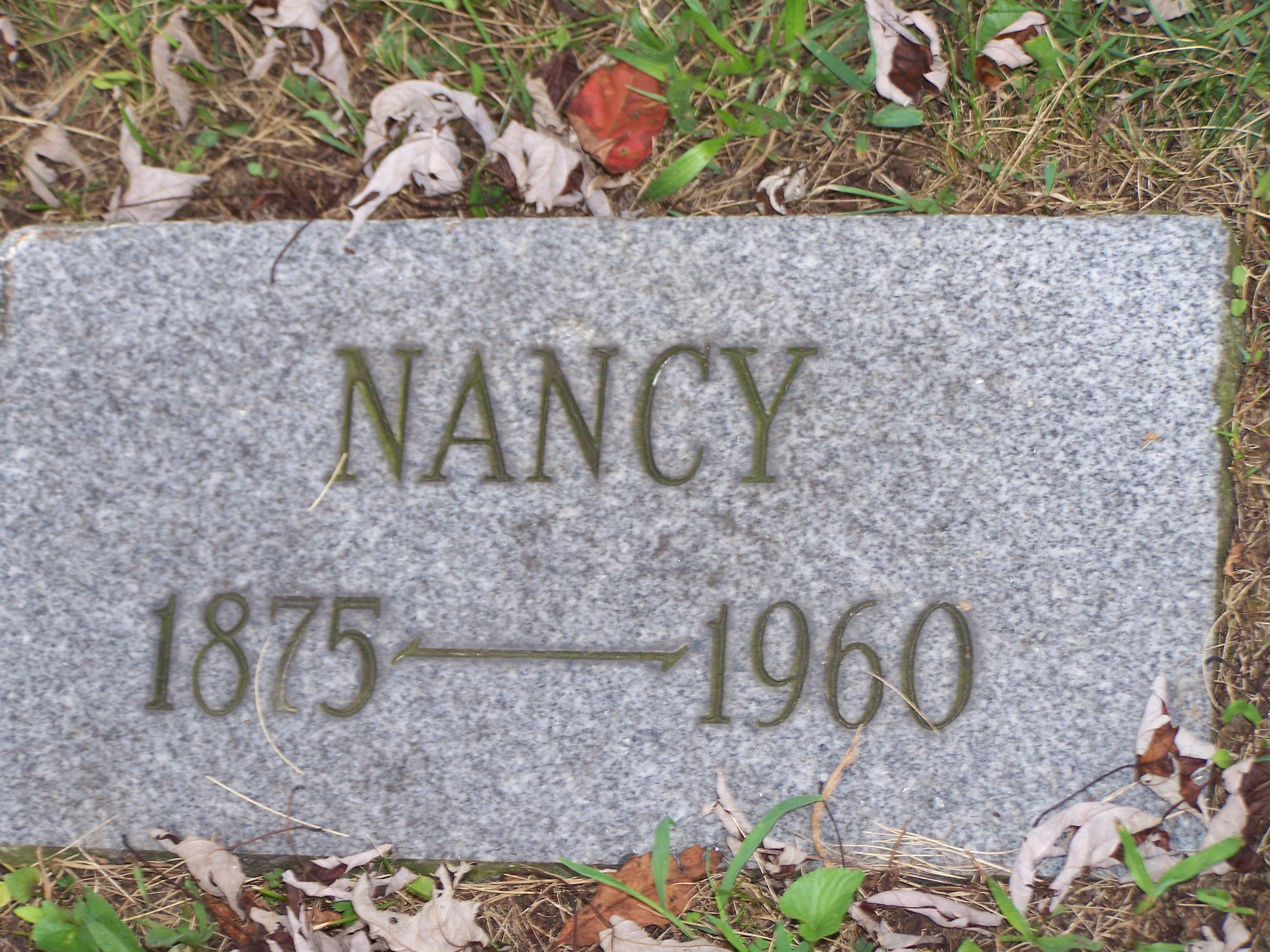 Nancy Bell (1875 - 1960) - My Great-grandmother that I was named after.