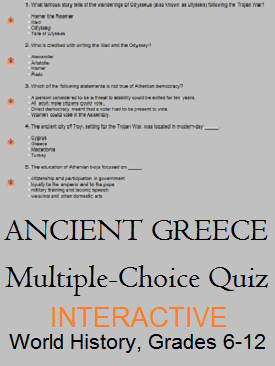 The glory that was ancient greece free online multiple choice the glory that was ancient greece free online multiple choice quiz for junior fandeluxe Choice Image