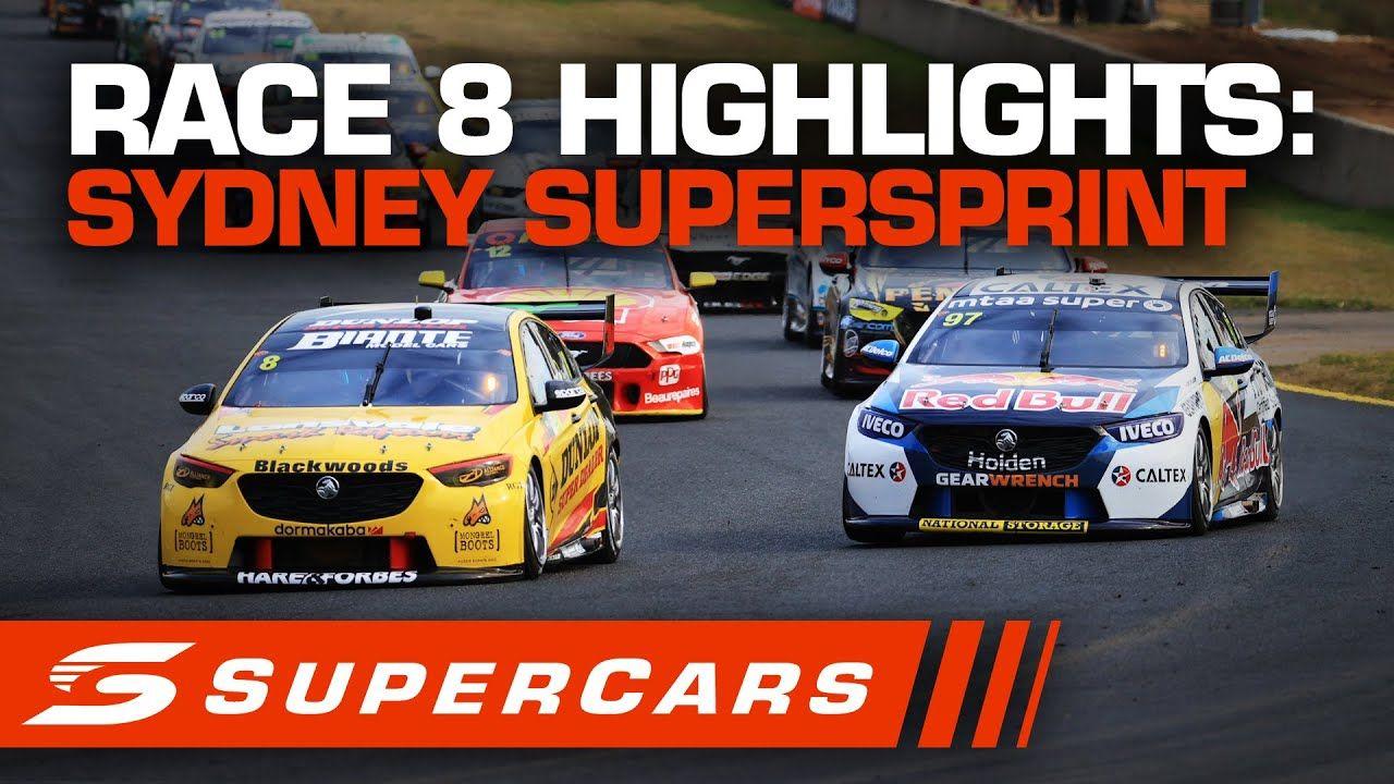 Highlights Race 8 Sydney Supersprint Supercars 2020 Electric Cars Uk Cars Uk Super Cars