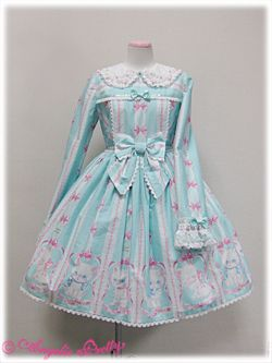 Angelic Pretty / One Piece / Whimsical Vanilla-chan OP