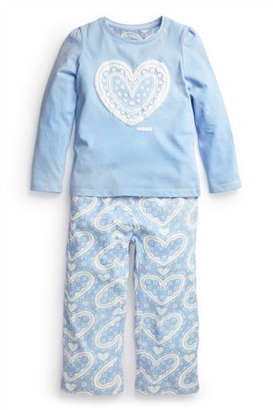 Buy Blue Heart Pyjamas (12mths-6yrs) from the Next UK online shop