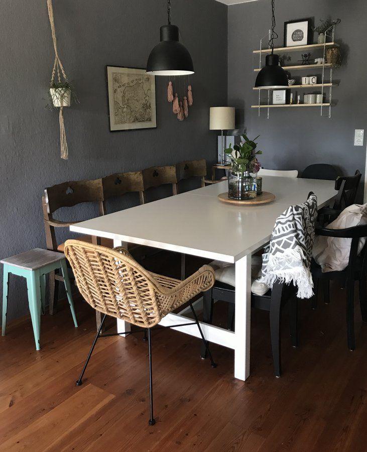 Fesselnd Esszimmer | SoLebIch.de Foto: Chris Tine1 #solebich #wohnen #wohnideen  #interior #inspiration #interiorideas #deko #dekoration #dekoideen # Einrichten ...