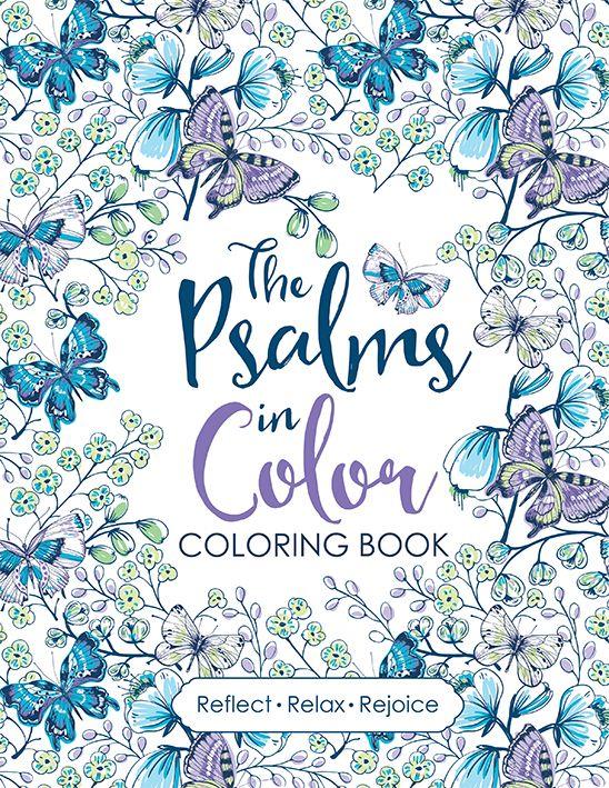 Coloring Book The Psalms In Color Bijbel Creatief
