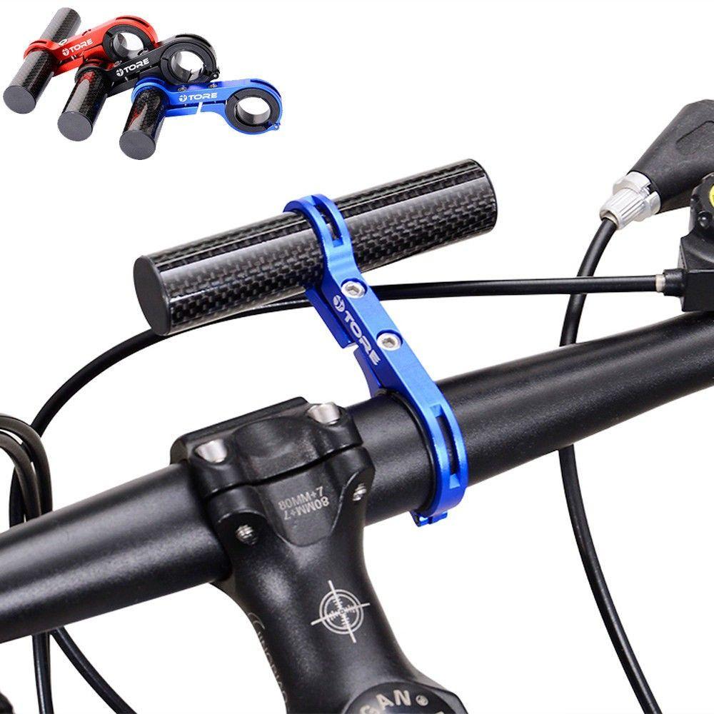 31.8MM Bike Flashlight Holder Handle Bar Bicycle Accessories Extender Mount Hot