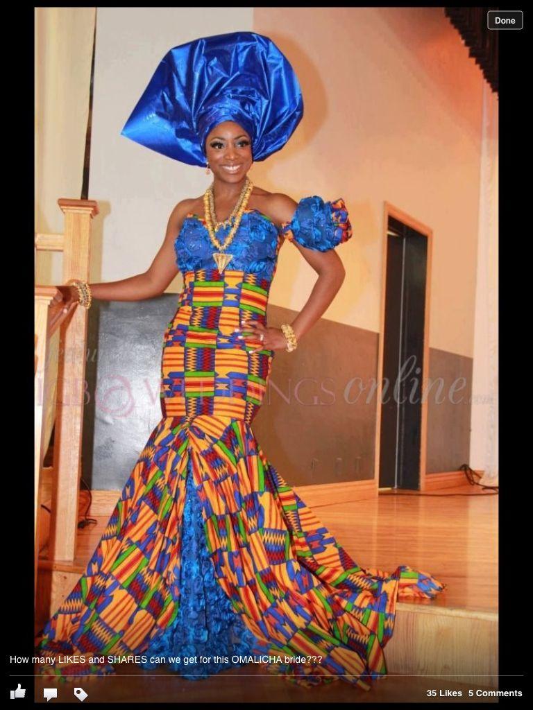 Beautiful ghanaian bride ghana wedding dress pinterest