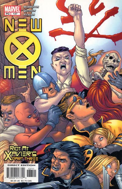 New X Men 137 By Frank Quitely J D Smith Hombres X Comics Marvel