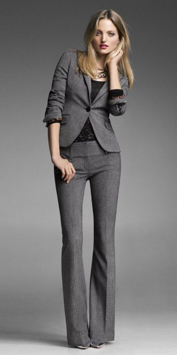 Business professional suit option for women. Interview attire ...