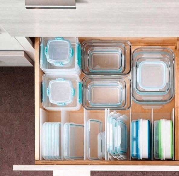 40 Kitchen Organization Ideas & Hacks That Save Space De