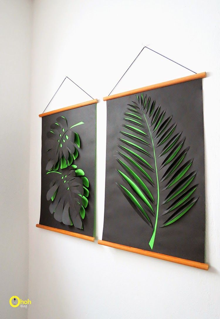 23 diy wall art ideas to decorate your space   paper wall art