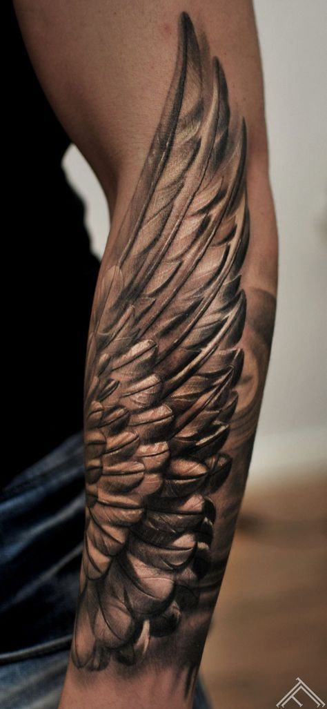 Photo of Tattoo arm wing feathers 58 Ideas for 2019
