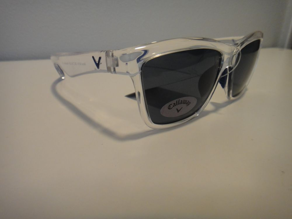 Callaway Golf Sun Sunglasses Neox Nx14 E051 Clear Frames Gray
