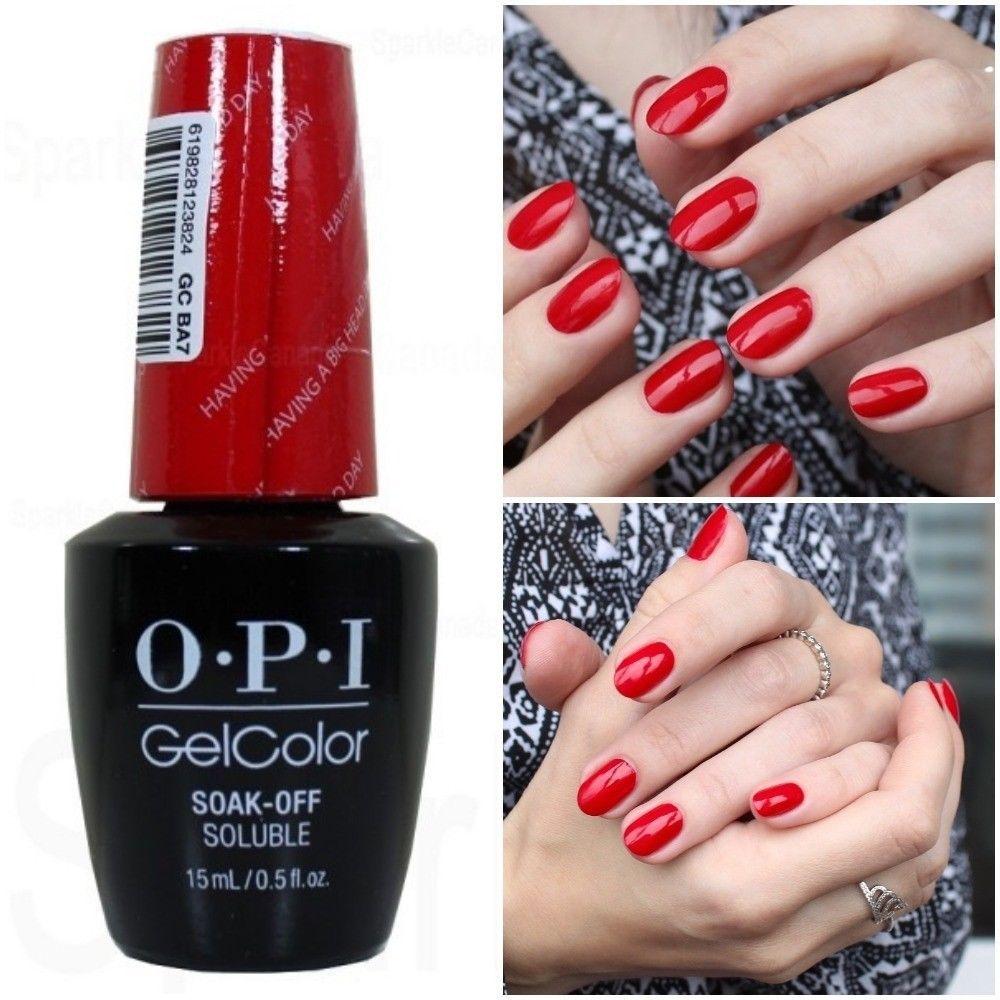 Opi Gel Nail Polish Uv Or Led - To Bend Light