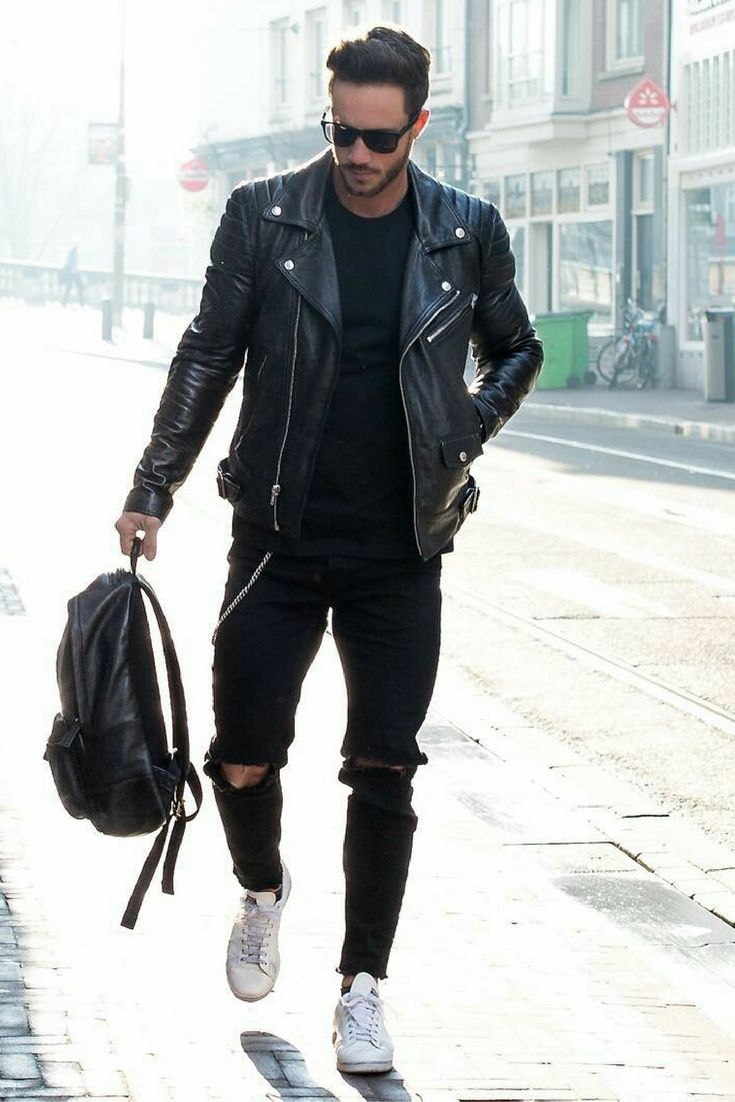 a8c9b48a3 15 Coolest Ways To Wear Leather Jacket This Winter in 2019 ...