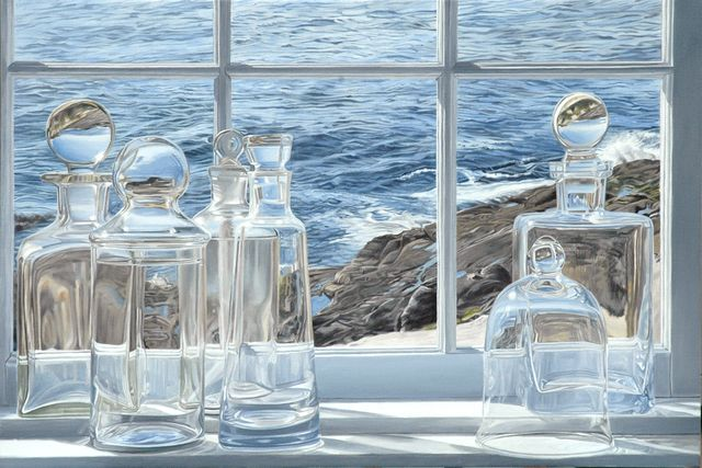 "Steve Smulka - ""Making Waves"" (2013) - Oil on canvas"