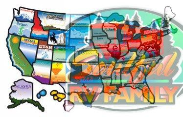 The Us States Map How We Decided What Qualifies As A Visit Http
